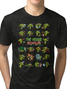 The Veggie Zombie Tri-blend T-Shirt