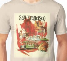 Vintage San Francisco poster Unisex T-Shirt