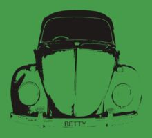 VW Beetle Shirt - BETTY by melodyart