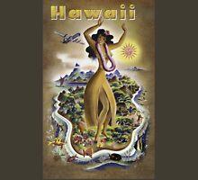 Vintage Hawaii Poster Unisex T-Shirt