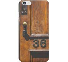 no. 36 iPhone Case/Skin