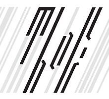 Meanwhile Back on Earth - Barcode Logo by alphanaut