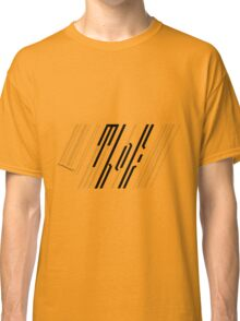 Meanwhile Back on Earth - Barcode Logo Classic T-Shirt
