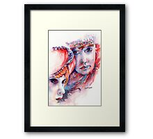 Fire & Ice... Framed Print