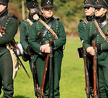 Sharpe's Rifles at the Battle of Waterloo by Chris L Smith