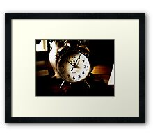 From a time gone by... Framed Print