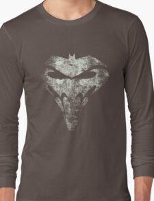 BatSkull - Punisher/Batman Mashup (Mega Grunge) Long Sleeve T-Shirt