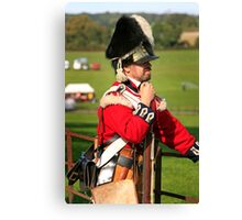 Soldier of the British Army Canvas Print