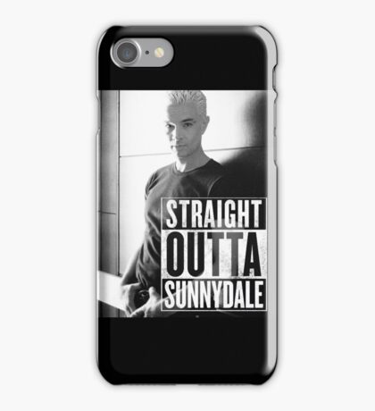 Spike - Straight Outta Sunnydale! iPhone Case/Skin