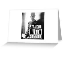 Spike - Straight Outta Sunnydale! Greeting Card