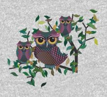 Owls on a Branch Kids Clothes