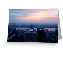 New York Beacon Greeting Card