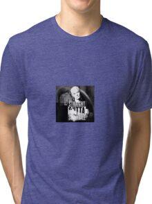 Spike - Straight Outta Sunnydale 2 Tri-blend T-Shirt