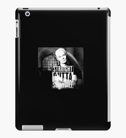 Spike - Straight Outta Sunnydale 2 iPad Case/Skin