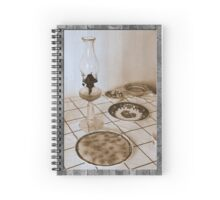 Still life on basalt Spiral Notebook
