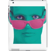 Touch my nose iPad Case/Skin