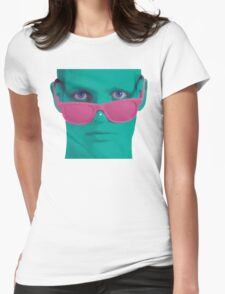 Touch my nose Womens Fitted T-Shirt