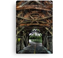 Old Time Crossings Canvas Print