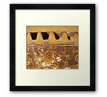 Cement Mixer - McCook Nebraska Framed Print