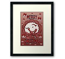 Merry Christmas 02 Framed Print