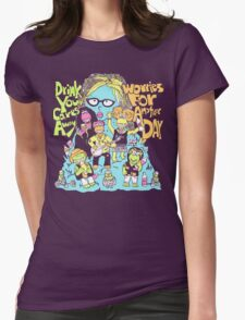 Oggle Rock Womens Fitted T-Shirt