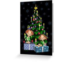 Christmas Fairies Greeting Card