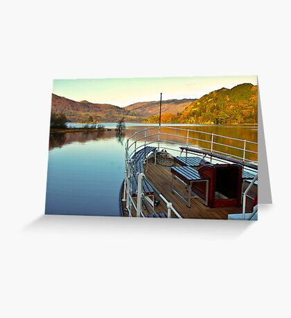 I am Sailing (Ullswater) Greeting Card