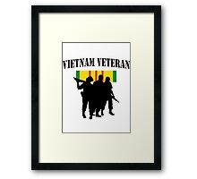 Vietnam Veteran T-Shirt Framed Print
