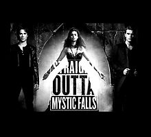 The Vampire Dires - Straight Outta Mystic Falls! by ManonTheSlayer