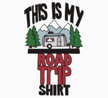 Road trip shirt - color Kids Tee
