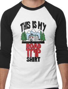 Road trip shirt - color Men's Baseball ¾ T-Shirt