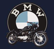 Vintage BMW Motorcycle Kids Clothes