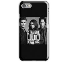 Straight Outta Mystic Falls - The Vampire Diaries iPhone Case/Skin