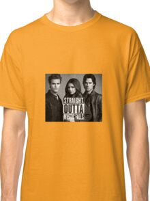 Straight Outta Mystic Falls - The Vampire Diaries Classic T-Shirt