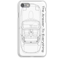 The Answer is Always MX5 iPhone Case/Skin