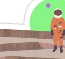 Marooned Astronaut (alone 2015) Sticker