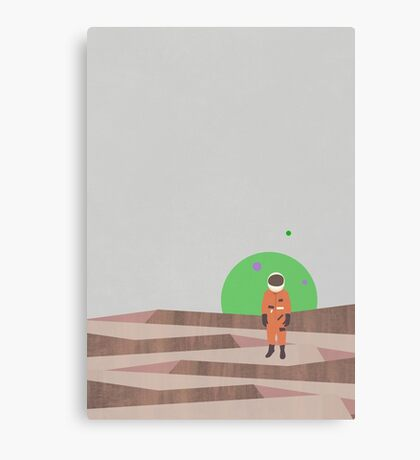 Marooned Astronaut (alone 2015) Canvas Print