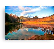 Blea Tarn - Lake District Cumbria. Canvas Print