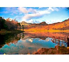 Blea Tarn - Lake District Cumbria. Photographic Print