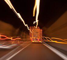 Fun in the Tunnel by Karen Havenaar