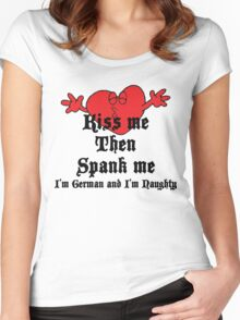 Funny German T-Shirt Women's Fitted Scoop T-Shirt