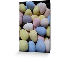 Candy eggs Greeting Card
