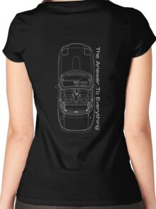 The Answer is Always MX5 (Dark) Women's Fitted Scoop T-Shirt