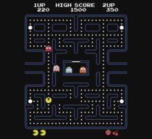 Pac-Man or Pacman by MuralDecal