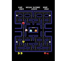Pac-Man or Pacman Photographic Print