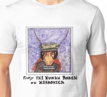 pinky The Cockroach Playing Harmonica Unisex T-Shirt