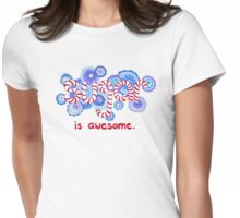 Sugar is Awesome Womens Fitted T-Shirt