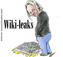Wiki Leaks by Londons Times Cartoons by Rick  London