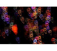 Suburb Christmas Light Series - Ice Cream Photographic Print