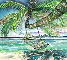 Caribbean Solitude by mleboeuf